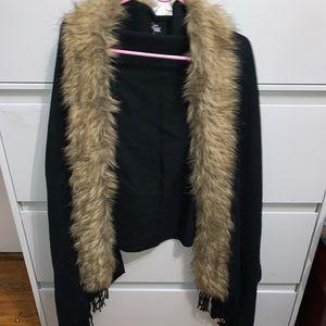 Furry, stylish scarf